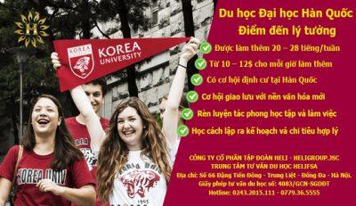 Du học Đại học Hàn Quốc – Điểm đến lý tưởng