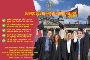 Miễn 100% học phí cho các khoá học Đại học và Cao học khi du học thạc sỹ tại Đức