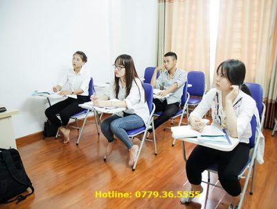 Lớp học B1 tiếng Đức tại Helifsa