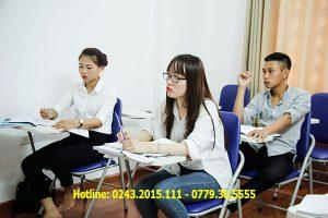 Một lớp học du học nước ngoài tại Helifsa