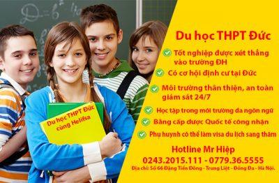 Tìm hiểu Du học THPT tại Đức năm 2020
