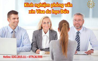 chia sẻ kinh nghiệm phỏng vấn xin Visa du học Đức