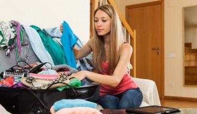 Quần áo bên Đức khá rẻ, chất lượng tốt nên không cần mua đồ từ Việt Nam mang đi