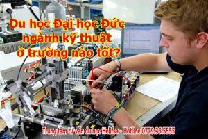 Du học Đại học Đức ngành kỹ thuật ở trường nào tốt?
