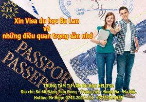 Xin Visa du học Ba Lan và những điều quan trọng cần nhớ