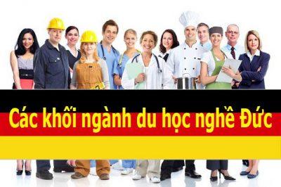 Các khối ngành du học nghề Đức rất đa dạng và dễ xin việc thu nhập cao