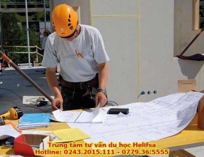 sinh viên sẽ được học hỏi thêm từ các vị trí làm việc khác nhau như: Kiến trúc sư, kỹ sư xây dựng…