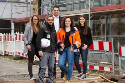 Nhiều bạn nữ cũng chọn du học nghề Đức ngành Xây dựng