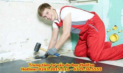 Du học nghề Đức ngành xây dựng bạn sẽ được học bài bản, vừa học vừa thực hành