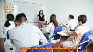 Lớp học tiếng Đức B1 tại trung tâm tư vấn du học Helifsa
