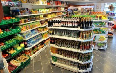 Hình ảnh siêu thị tại Ba Lan đa dạng hàng hóa