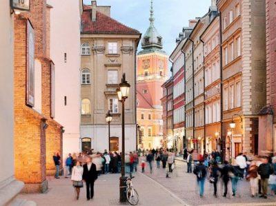 Đây là hình ảnh tráng lệ của một khu phố Warsaw