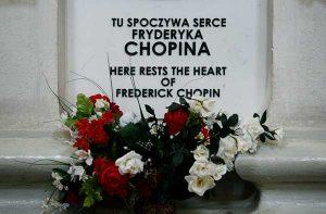 Trái tim của người nhạc sĩ đại tài Chopin ở nhà thờ Holy Cross