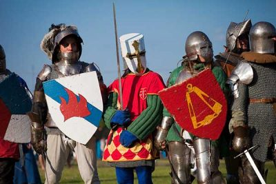 Trò chơi trở về thời Trung cổ rất phổ biến ở Ba Lan