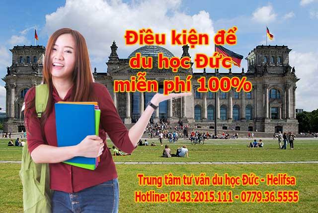 Những điều kiện để du học Đức miễn phí 100%