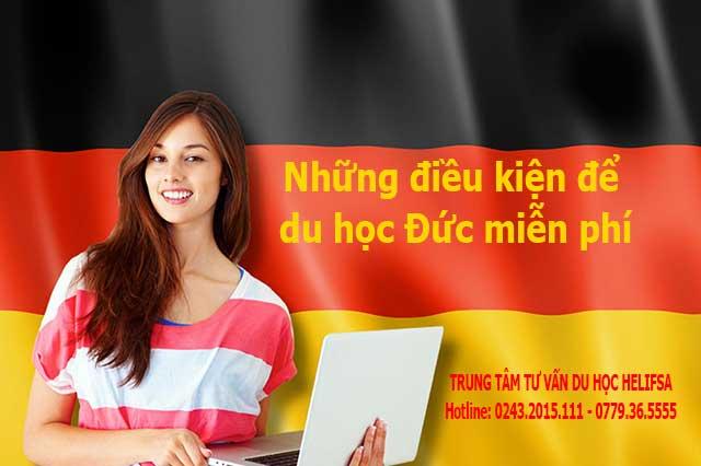Những điều kiện du học Đức miễn phí