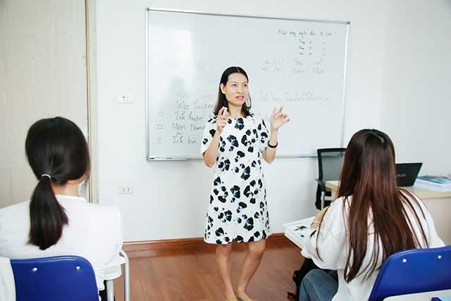 Lớp học tiếng Đức cho sinh viên du học nghề tại Helifsa