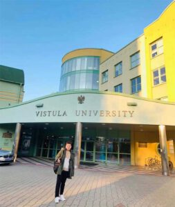 Phạm Thanh Duy tại Trường Đại học Vistula