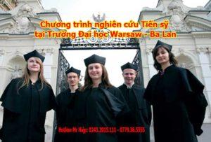 Chương trình nghiên cứu Tiến sỹ tại Trường Đại học Warsaw - Ba Lan