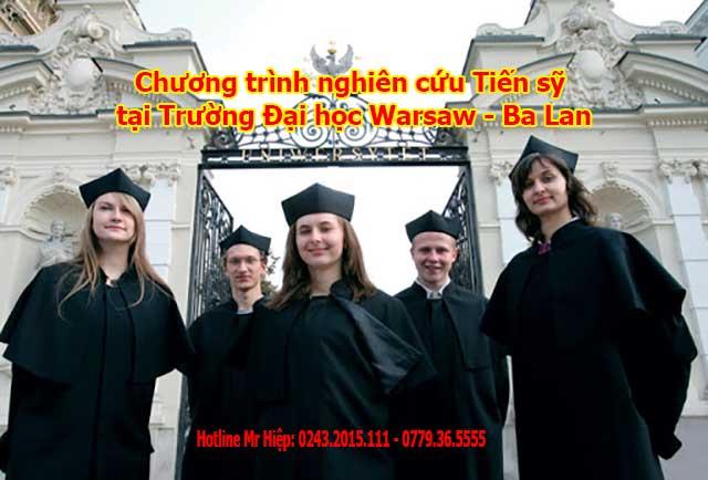 Chương trình nghiên cứu Tiến sỹ tại Trường Đại học Warsaw – Ba Lan