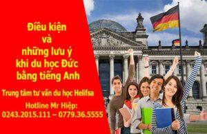 Điều kiện và những lưu ý khi du học Đức bằng tiếng Anh
