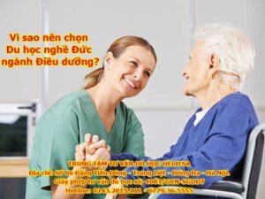Vì sao nên chọn Du học nghề Đức ngành Điều dưỡng