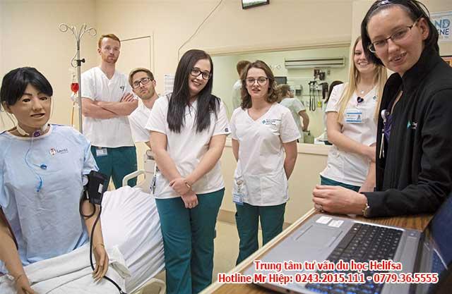 Du học nghề Đức ngành điều dưỡng được nhiều người quan tâm vì miễn 100% học phí