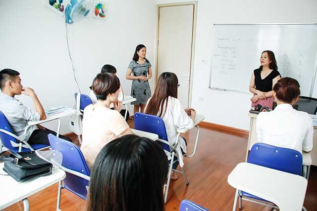 Lớp học tiếng Đức tại trung tâm tư vấn du học Helifsa