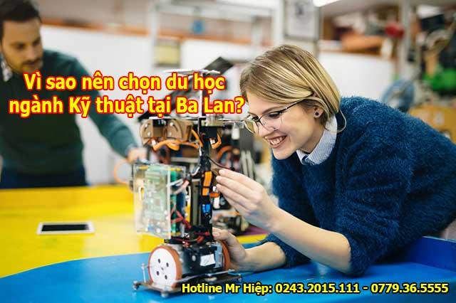 Du học ngành Kỹ thuật tại Ba Lan được nhiều bạn trẻ lựa chọn