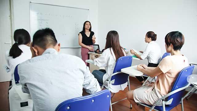 Lớp học tiếng Đức B1 tại Helifsa phục vụ cho du học nghề Đức ngành Điều dưỡng