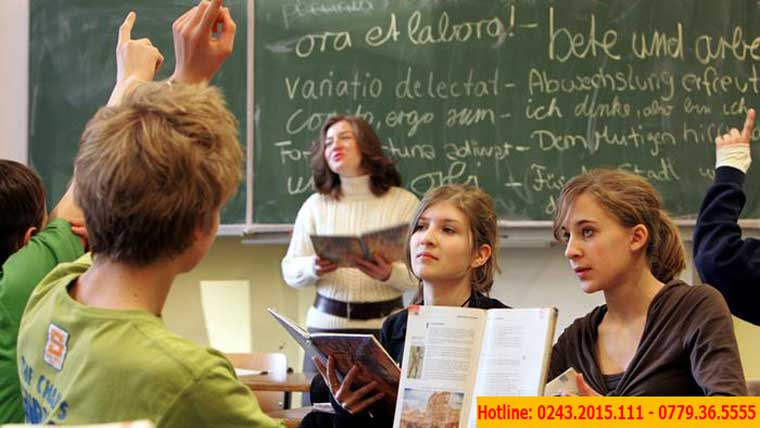 Học trung học phổ thông tại Đức con bạn có cơ hội định cư cao