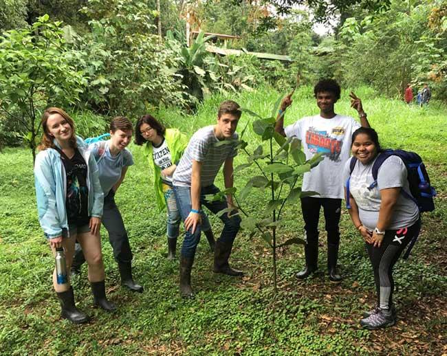 Sinh viên được khuyến kích tiếp cận nhiều với thiên nhiên hoang dã