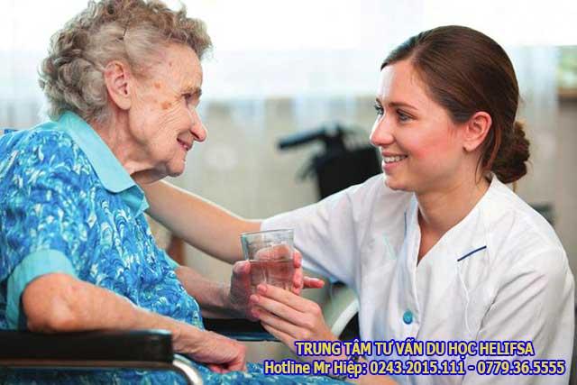 Du học nghề tại Đức ngành điều dưỡng được miễn 100% học phí