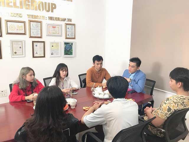 Một buổi tư vấn du học Đức tại Trung tâm du học Helifsa