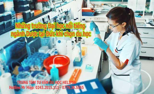 Nước Đức nổi tiếng với nền giáo dục ngành Dược chất lượng theo tiêu chuẩn Châu Âu