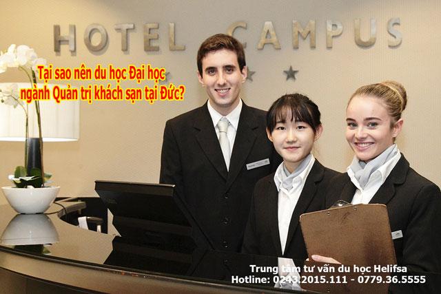 Tại sao nên du học ngành Quản trị khách sạn tại Đức?
