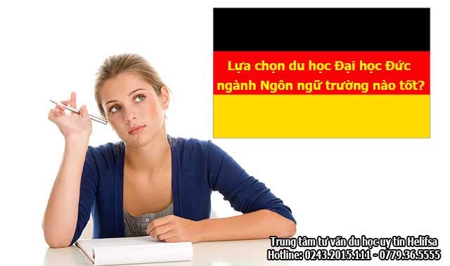 Lựa chọn du học Đại học Đức ngành Ngôn ngữ trường nào tốt