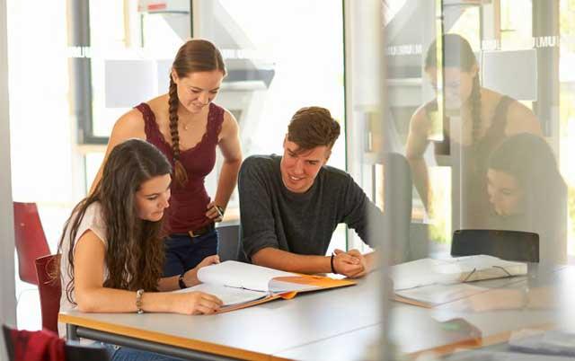 Sinh viên có vốn ngôn ngữ tốt sẽ có cơ hội làm việc ở các công ty nước ngoài