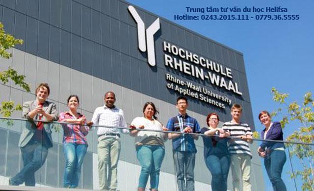 Trường Đại học Rhein - Waal được đánh giá cao về chất lượng giáo dục và phương pháp giảng dạy