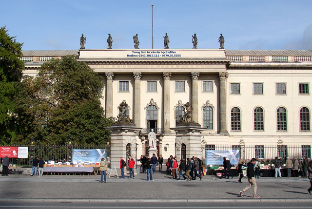 Đại học Humboldt Universität Berlin