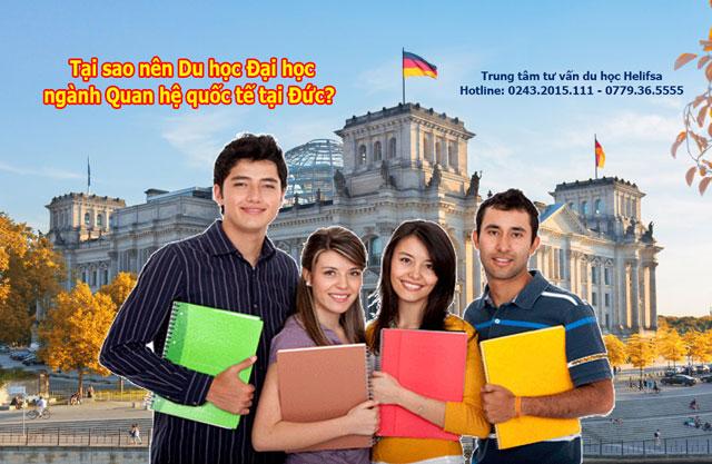 Du học Đại học Đức ngành Quan hệ quốc tế và những điều cần biết