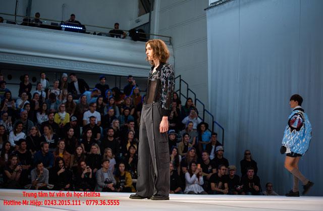 Sinh viên ngành thiết kế thời trang tại Ba Lan được tự do sáng tạo