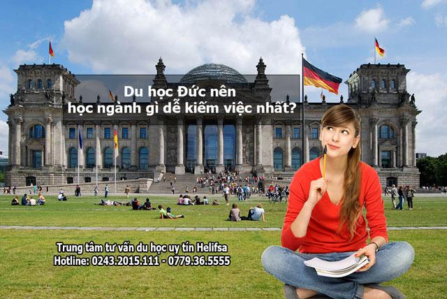 Du học Đức nên học ngành gì dễ kiếm việc nhất?