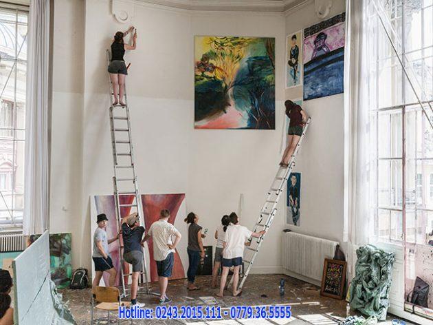 Tại Đức có nhiều trường Đại học đào tạo ngành Mỹ thuật với chất lượng tốt nhất
