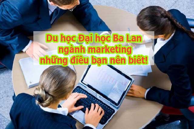Du học Đại học Ba Lan ngành marketing bạn cần biết điều gì?