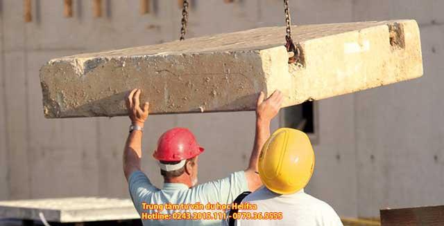 Ngành xây dựng là một trong số các ngành có được mức thu nhập khá cao