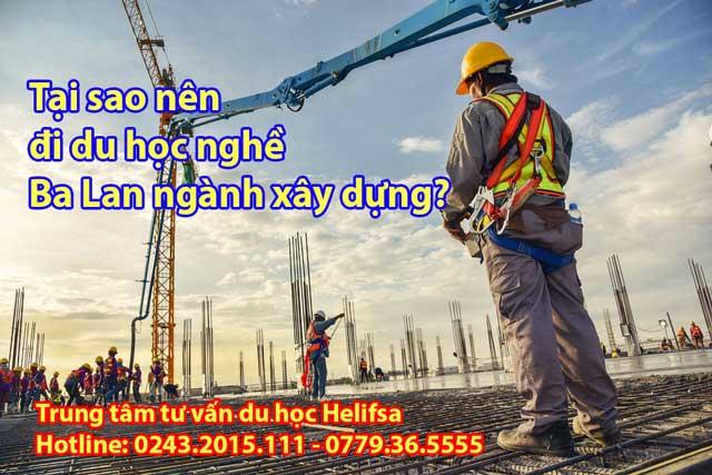 Tại sao nên đi du học nghề Ba Lan ngành xây dựng?
