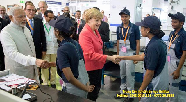 Nước Đức đặc biệt quan tâm đào tạo các nghề