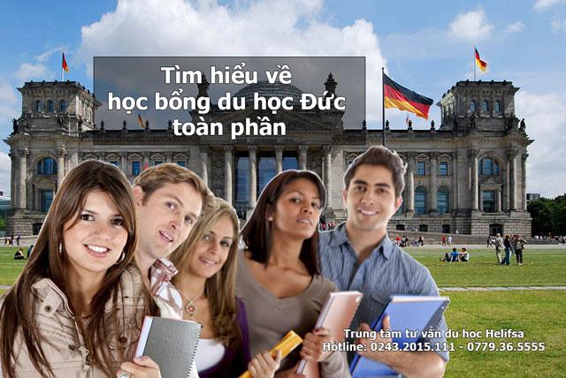 học bổng du học Đức toàn phần