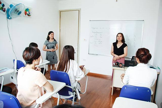 Lớp học B1 tiếng Đức tại Trung tâm tư vấn du học Helifsa